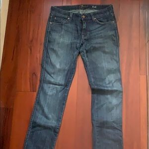 7 for all man kind boot cut denim